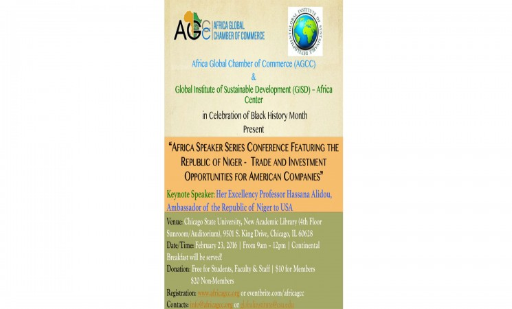 AFRICA SPEAKERS SERIES CONFERENCE FEATURING THE REPUBLIC OF NIGER